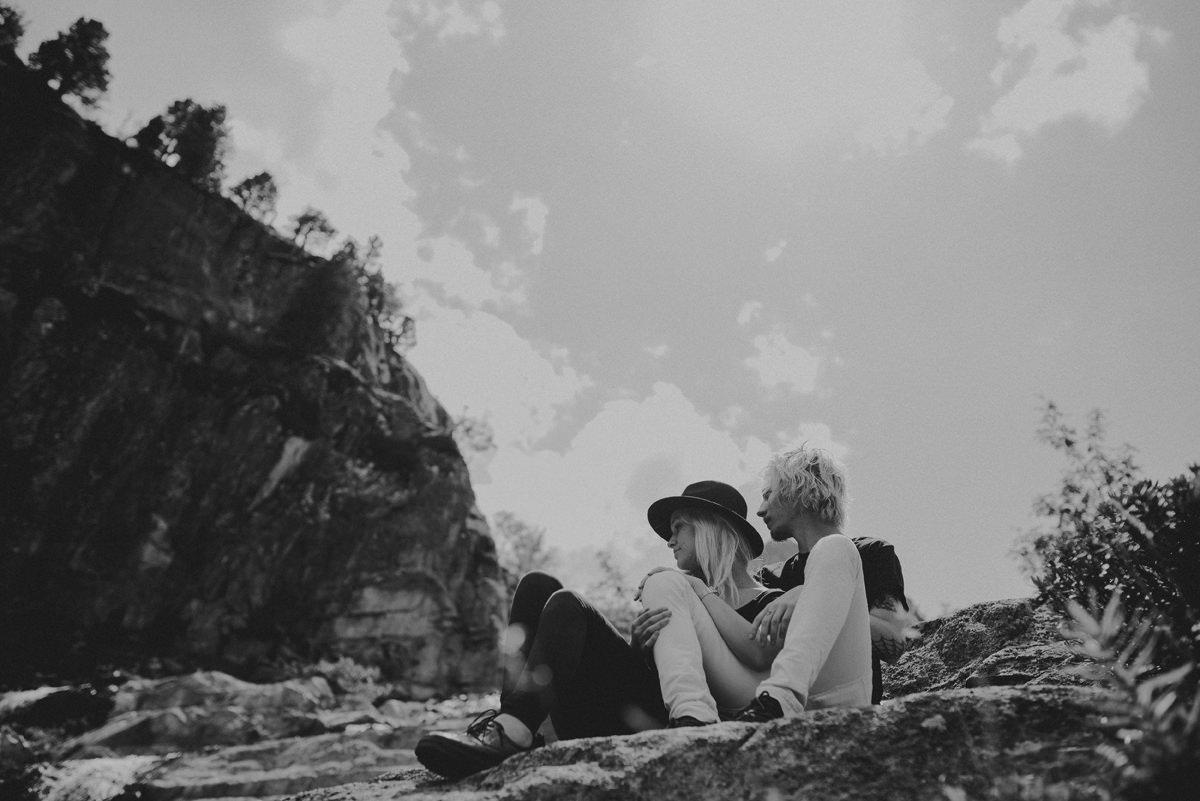 moutain couple session