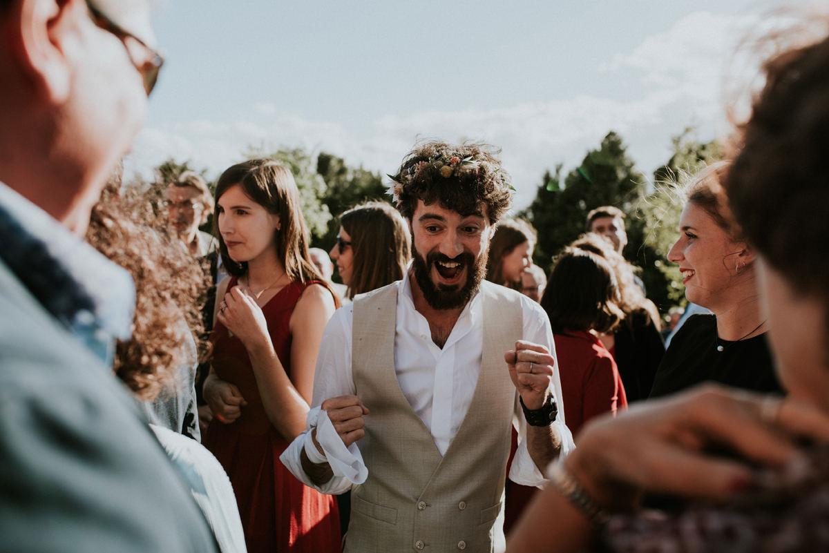 Mariage wedding boho au Chateau de Fajac