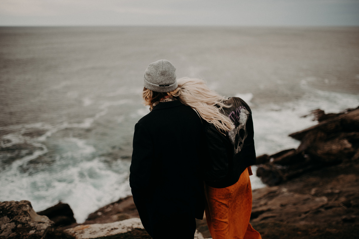 ocean couple session