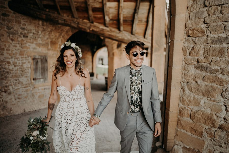 france boho wedding