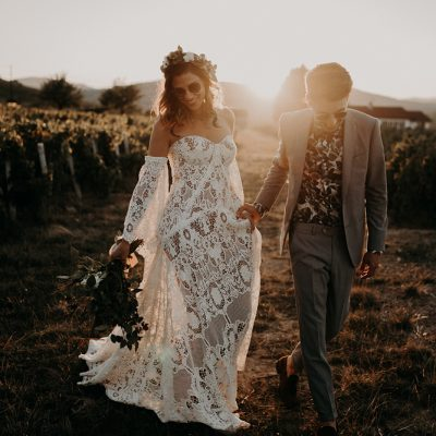 france boho wedding mariage