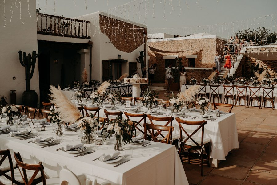 Ibiza wedding mariage table decor