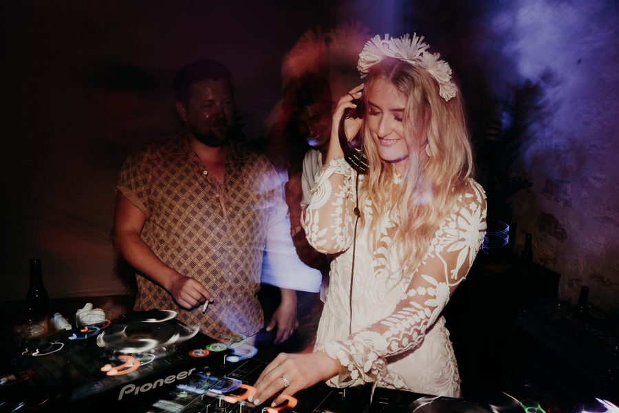 Ibiza wedding mariage bride dj