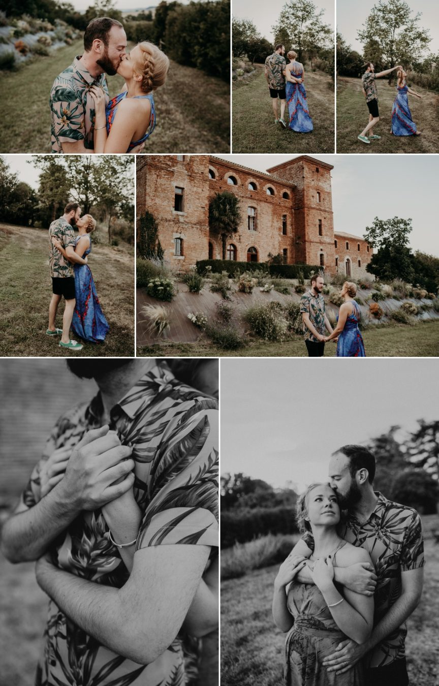 seance couple wedding Fajac Toulouse