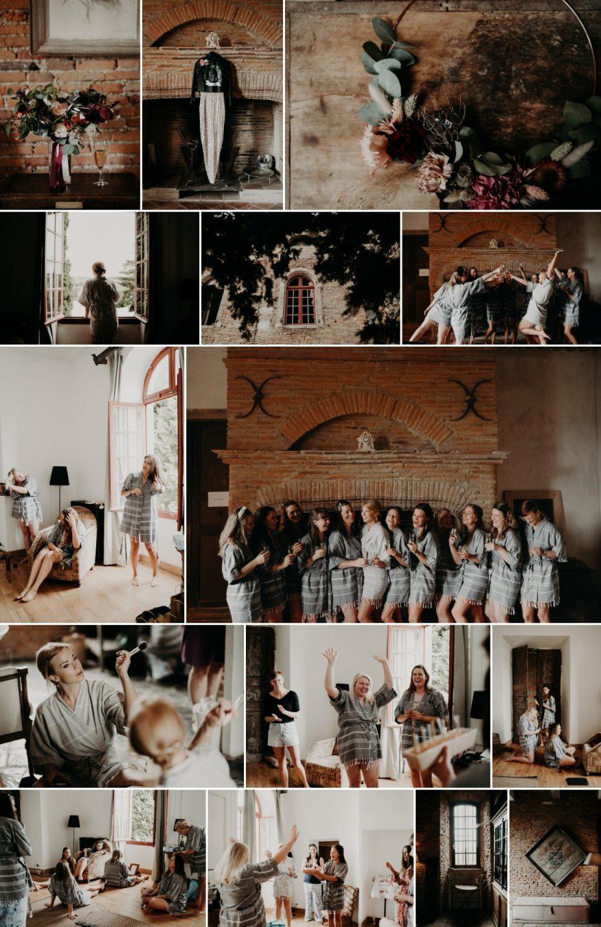 mariage wedding Fajac Toulouse bridesmaids