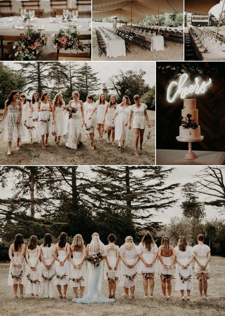 Fajac Toulouse bridesmaids
