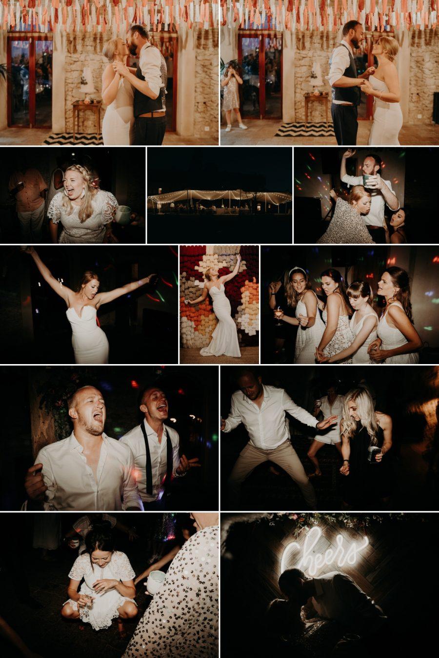 Fajac Toulouse wedding party