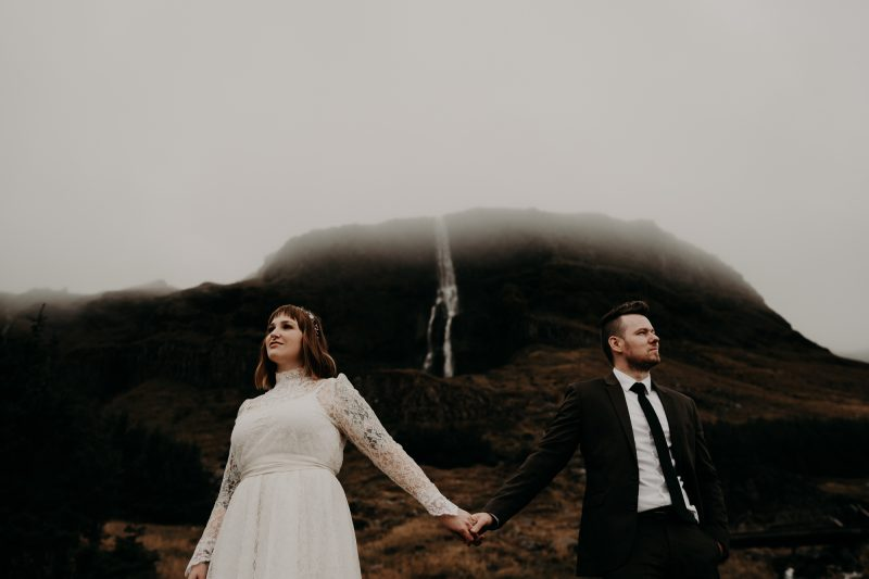 Elopement iceland stef and austin